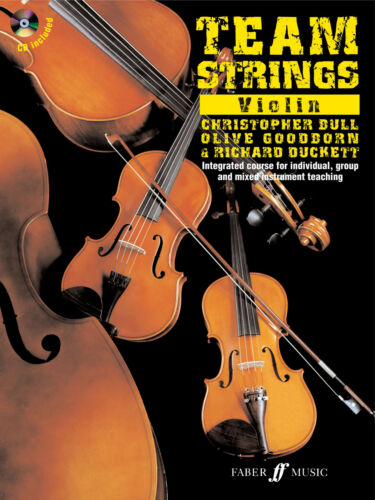 Team Strings Violin Instrumental Solo Learn to Play SONGS FABER Music BOOK /& CD
