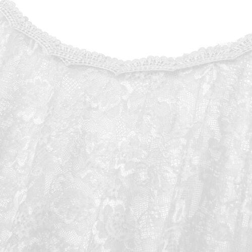 Womens Elegant Cape Floral Lace Shawls Wraps Bolero Wedding Bridal Shrug Jacket