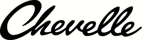 chevelle vinyl decal window or bumper sticker chevy muscle chevrolet