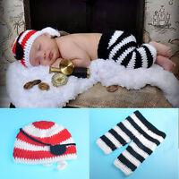 Baby Fotoshooting Kostüm kleiner Pirat 0-6 Monate 3 teilig