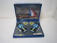 DV6865 MINICHAMPS 1/43 COFFRET RENAULT F1 TEAM 2005 ALONSO FISICHELLA ETAT NEUF