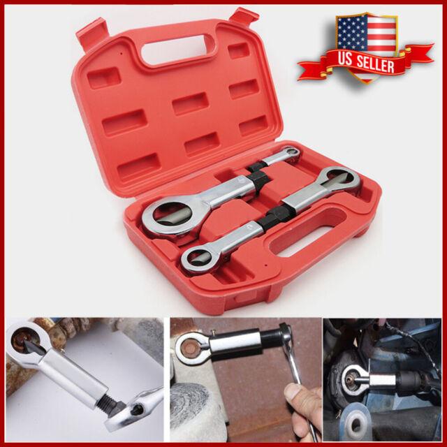 4x Nut Splitter Breaker 9-12mm 12-16mm 16-22mm 22-27mm Set Cracker Removeing Kit