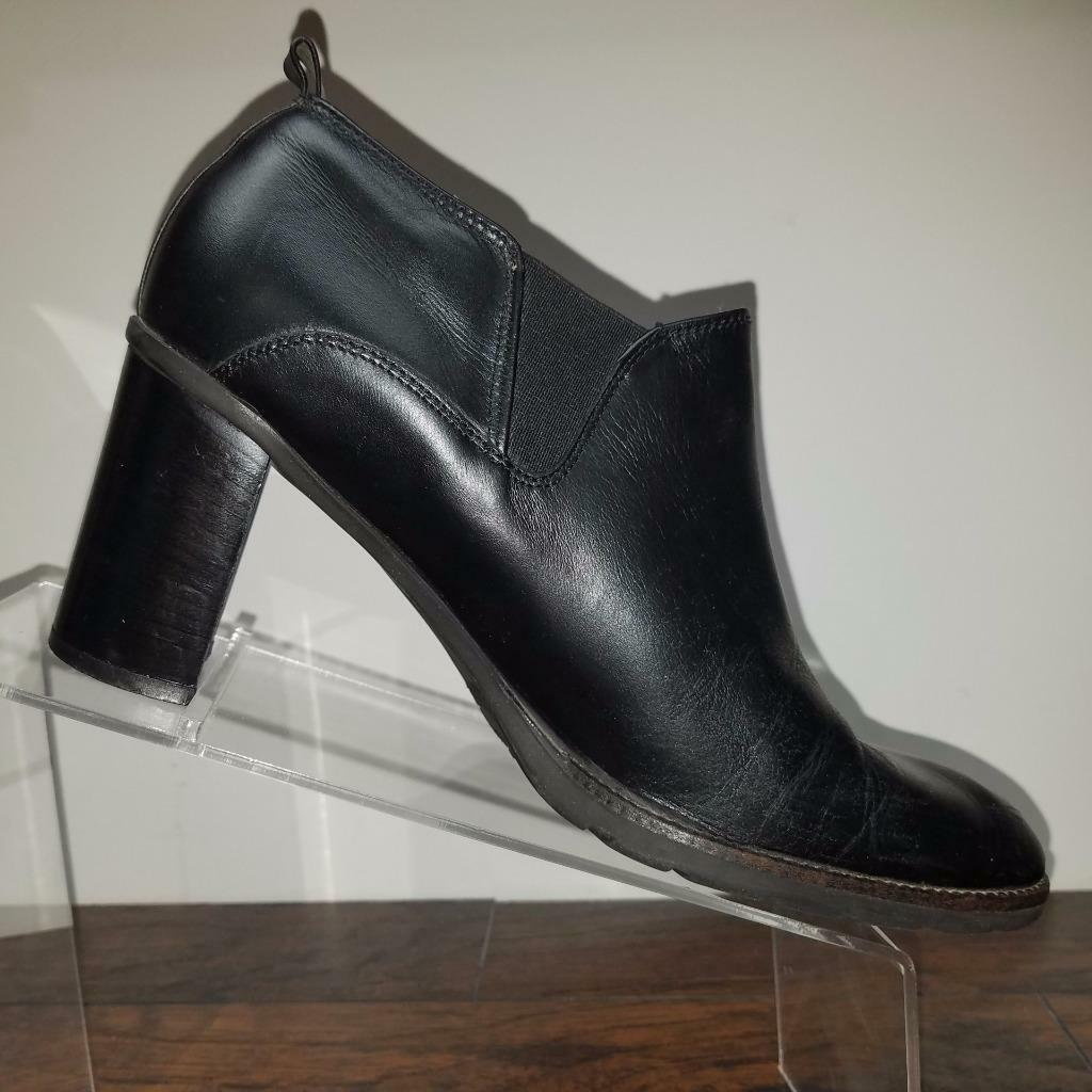 Bass Womens Westside Collection Ankle Bootie Black SZ 9 1/2 M Casual