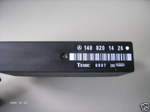 MERCEDES-BENZ w140 Memory siège du conducteur relais 1408201426