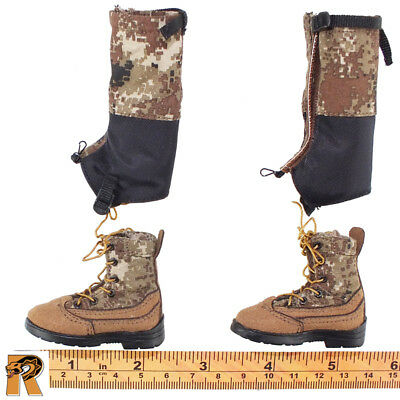 for Feet Doomsday Survivors - 1//6 Scale Boots Flagset Action Figures