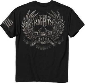 Buck-Wear-I-will-Defend-My-Rights-Until-I-Die-Adult-T-Shirt-nra