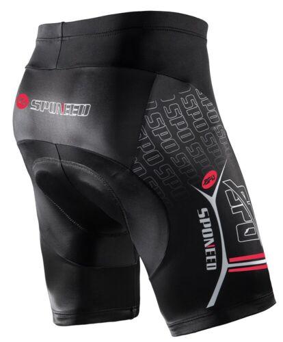 Mens Cycling Shorts Padded Road Cycle Tights Stretchy MTB Biking Half Pants