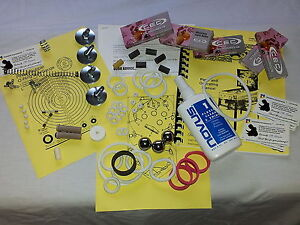 1980 Williams Black Knight Pinball Tune-up Kit Includes Rubber Ring Kit