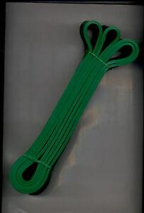 set of 10 -1 3/4 inch RESISTANCE BANDS JUMP SPRINT FLEX STRETCH average resist.