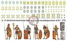 Peddinghaus 1/72 Roman Infantry Shield Heraldry for Figures [Decal] 2526