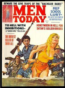 Men-Today-Pulp-Magazine-Vol-8-2-March-1968-Bondage-Very-Fine-8-0