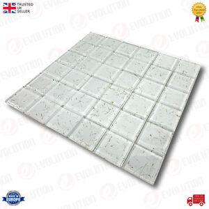 30-x-30-cm-GLASS-MOSAIC-WALL-TILES-SHEET-WHITE-WITH-GOLDEN-SPLASH-PATTERN-1-PC