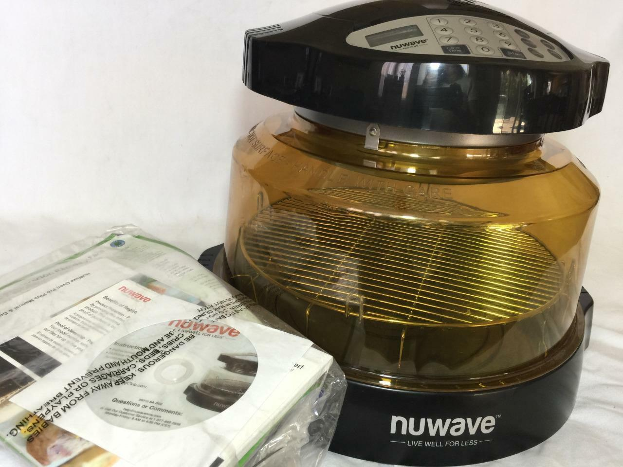 Digital HEARTHWARE NUWAVE PRO PLUS INFRARED Convection OVEN 20601 New