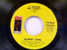 """ALBERT KING """"I WANNA GET FUNKY / THAT'S WHAT THE BLUES IS ALL ABOUT"""" 45"""