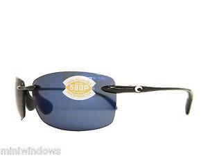 dad7b0157f8 new Costa Del Mar BALLAST Sunglass Black Blue POLARIZED 580P BALLAST ...