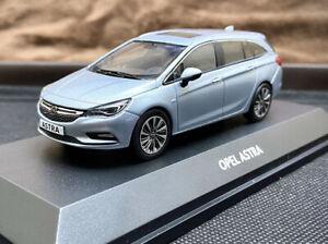 OPEL-Astra-K-Sports-Tourer-Collector-039-s-Coche-Modelo-1-43-Opel-Estate-Raro