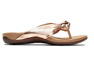1a486f563a2b Vionic Women s PIPPA Toepost Sandals ROSE GOLD Choose Size Free ...