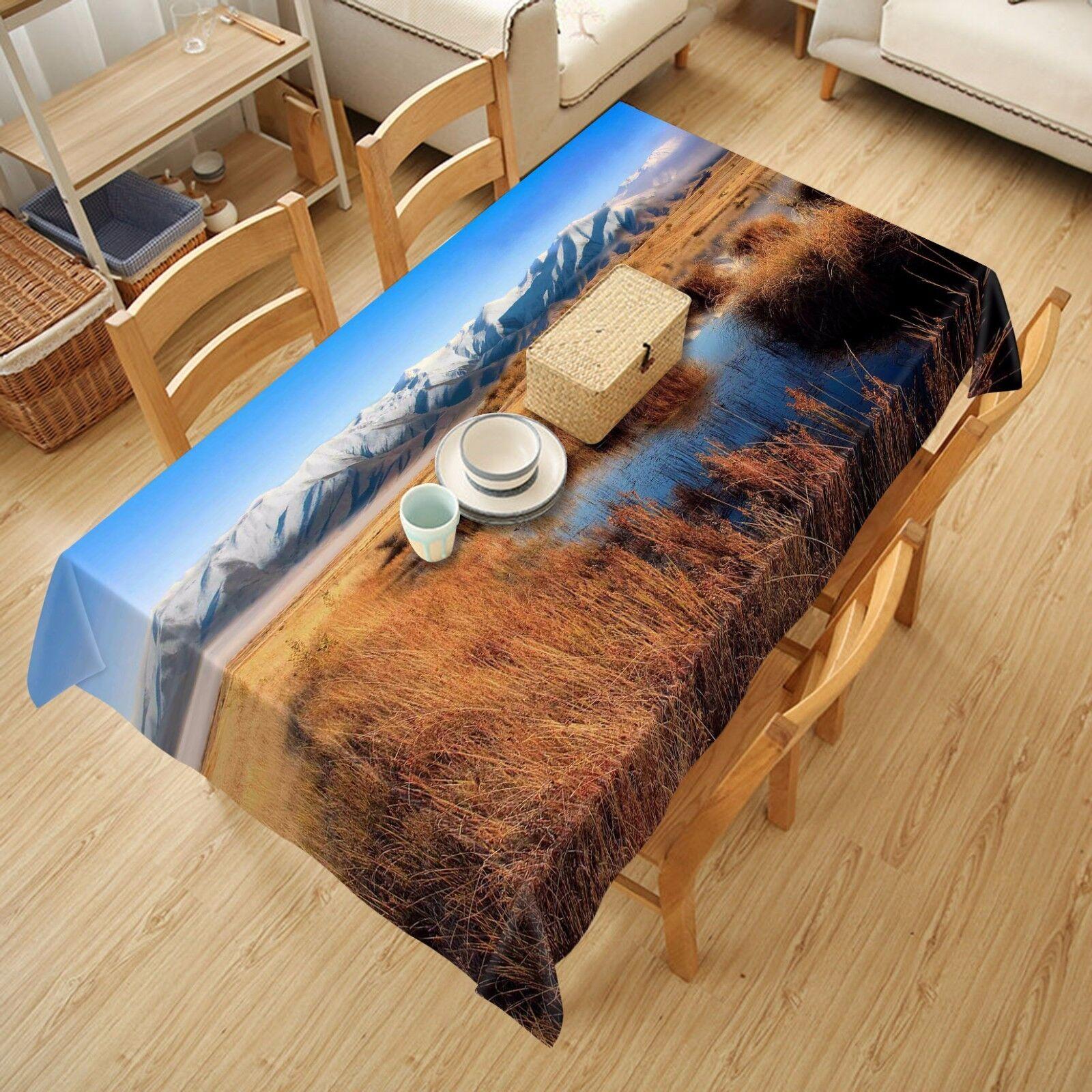 3D Ciel Pelouse 842 Nappe Table Cover Cloth Fête D'Anniversaire événement AJ papier peint UK