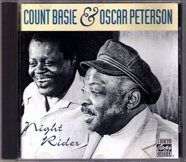 Count BASIE & Oscar PETERSON NIGHT RIDER Blue for Pamela Sweet Lorraine Blues CD