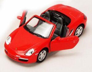 New 5 Kinsmart Porsche Boxster S Convertible Diecast Model Toy Car