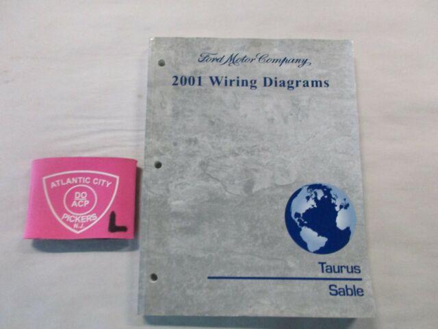 2001 Ford Taurus Mercury Sable Wiring Diagrams Service