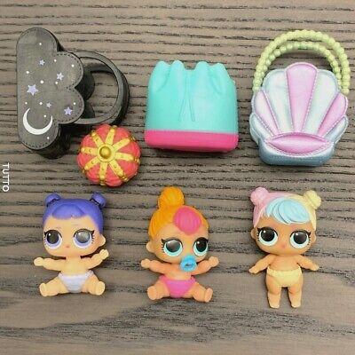Lot 2 LOL Surprise Dolls LiL Midnight COSPLAY CLUB SERIES 2 /& Midnight Pup pet