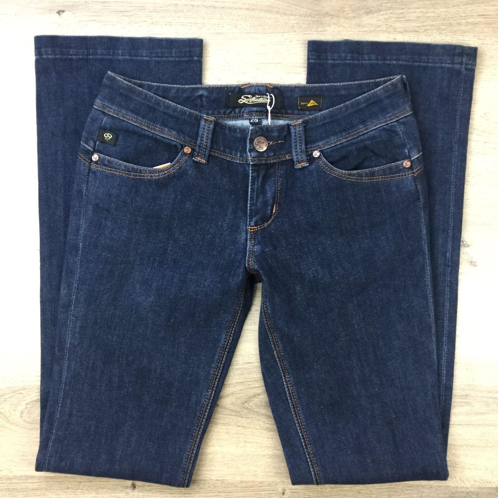 Serfontaine Feline x-fit r s Womens Bootcut Denim Jeans Size 28  (QQ4)