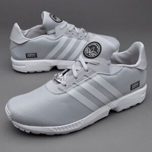 Image is loading ADIDAS-SKATEBOARDING-ZX-GONZ-GREY-WHITE-UK-10