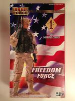 Elite Force 12 1/6 Inch Freedom Force Persian Gulf Us Marine Corps Figure Bbi