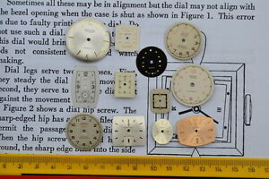 WATCH-DIALS-FACES-STEAMPUNK-altered-art-crafts-cyber-punk-jewellery-making-arts