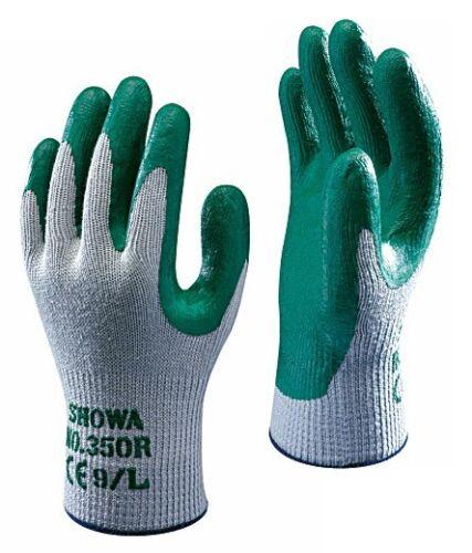 1 x Pair Of Showa 350R Thorn Master Gardening Work Gloves Nitrile Safety Grip