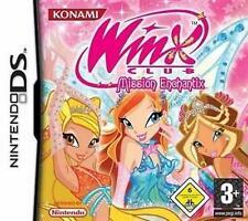 Nintendo DS 3DS Winx Club Mission Enchantix Deutsch GuterZust.