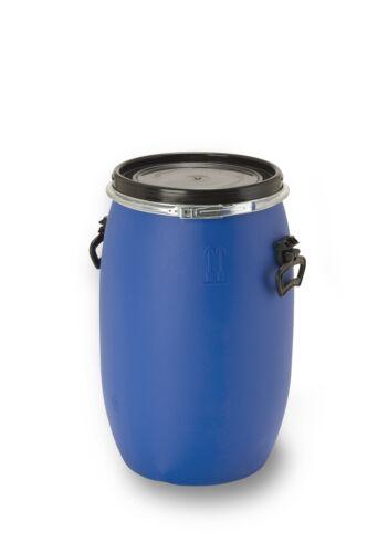 60 Liter Fass Behälter Deckelfass Futtertonne Maischefass Plastiktonne NEU.