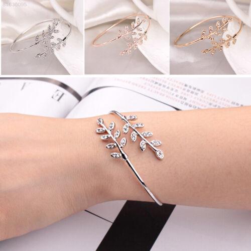 CFEB 65D8 Bracelet Bangle Gifts Adjustable Simple Elegant 3 Colors Open Beauty