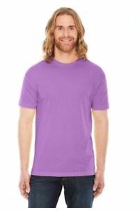 Marky-G-apparel-men-039-s-poly-cotton-usa-made-crew-neck-t-shirt-orchid-Sz-MED