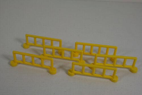 15B Lego Duplo  6 Zäune gelb Haus Bauernhof Eisenbahn  City Z