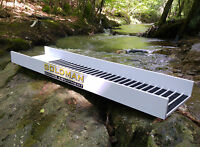 Gold Sluice Box 39,37 x 9,84 inches Mining, Panning, Dredge, Sluicing