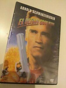 DVD-El-Ultimo-Gran-Heroe-avec-Schwarzenegger-Scelle