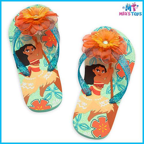 Disney Moana Flip Flops Thongs for Kids sizes 7-12 brand new