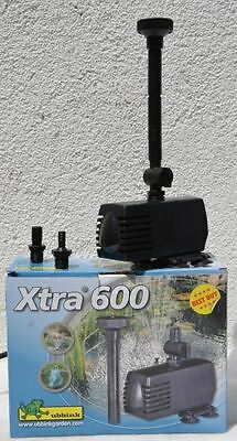 Ubbink Xtra Teichpumpe Wasserspielpumpe |Xra 600|Xtra 900|Xtra 1600| Xtra 2300