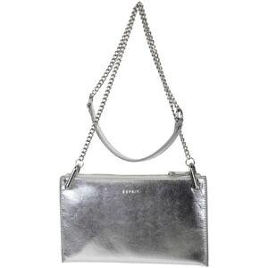 84054a6662c7d Das Bild wird geladen ESPRIT-Damen-Tasche-Schultertasche-Handtasche-Silver -Design-Farbe-