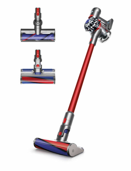 dyson v7 absolute red stick cleaner ebay. Black Bedroom Furniture Sets. Home Design Ideas