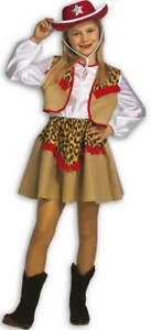 Cowgirl Kate Cowboy Kinder Karneval Fasching Kostum 116 140 Ebay