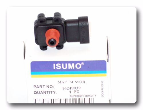 GM ISUZU SAAB SATURN Manifold Absolute Pressure Sensor 16249939 W//Connector For