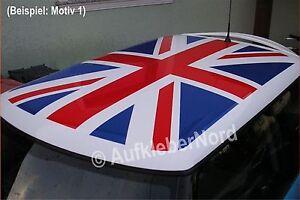 Dachaufkleber-UNION-JACK-Dach-Aufkleber-vormontiert-Roof-Flagge-Grossbritannien
