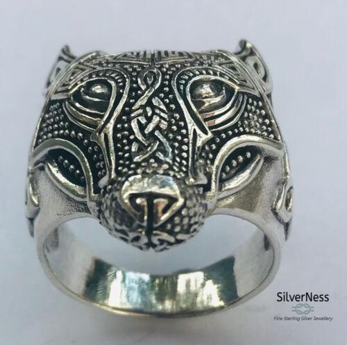 Stunning Custom Men\u2019s Viking ring in sterling silver pre-order