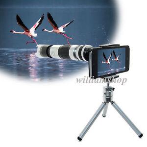 16X Zoom Telescope Camera Lens+60x-220x Microscope For iPhone 7 7 Plus 6s 5c SE