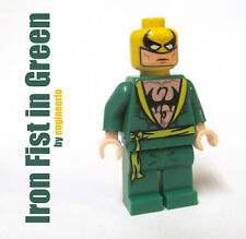 LEGO Custom - Iron Fist Green - Marvel Super heroes mini figure ironman