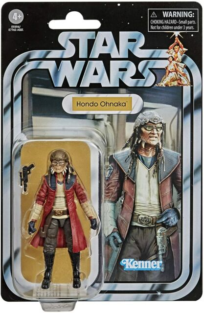 "HASBRO STAR WARS The Vintage Collection Hondo Ohnaka VC173  3.75"" Non Mint"