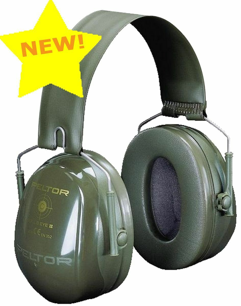Lightweight Ear Hearing Protection Defenders Bullseye II Grün by Peltor
